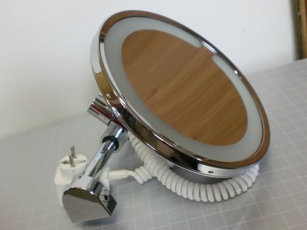 keuco elegance kosmetikspiegel 17616019000 spiegel beleuchtet restposten shk spezial. Black Bedroom Furniture Sets. Home Design Ideas