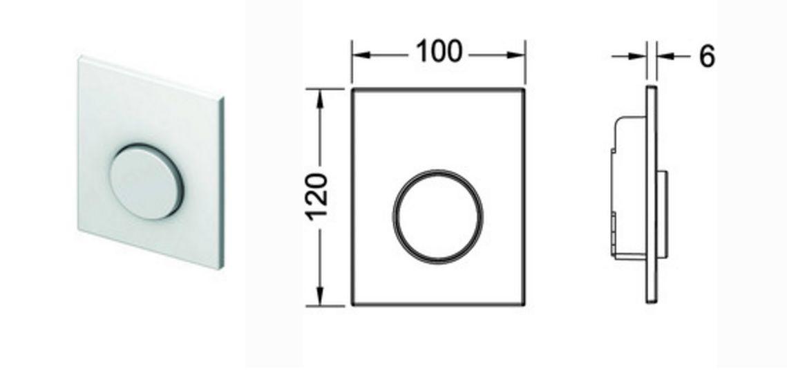 tece loop urinal bet tigung chrom gl nzend 9242626 pissoir dr ckerplatte up. Black Bedroom Furniture Sets. Home Design Ideas