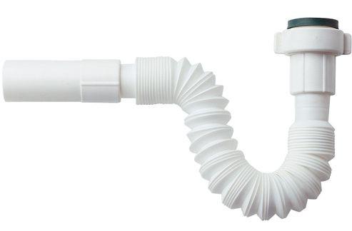 waschtisch sifon flexibel kunststoffsifon ablauf 1 1 4 x dn32 ausziehbar knickbar. Black Bedroom Furniture Sets. Home Design Ideas