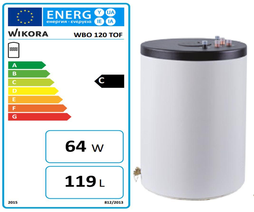 wikora speicher 120 liter wbo tof b warmwasserspeicher 55121000110 speicher boiler shk spezial. Black Bedroom Furniture Sets. Home Design Ideas